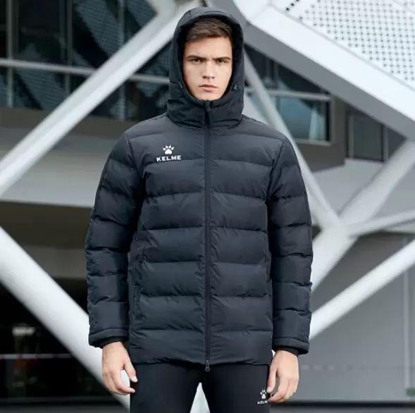 Пуховик KELME Padding Jacket цвет черный, купить в Москве, цена